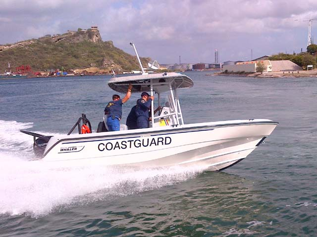 Boston Whaler 20 Justice Boat in  Mumbai India by Navnit Marine