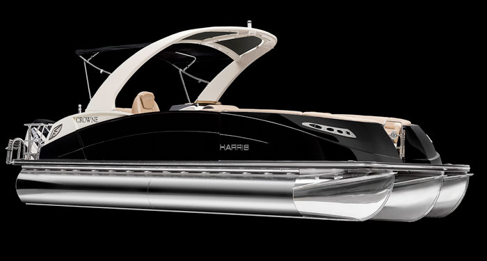Harris Boats Crown dl 250 Yacht Twin Engine Mumbai India Navnit Marine