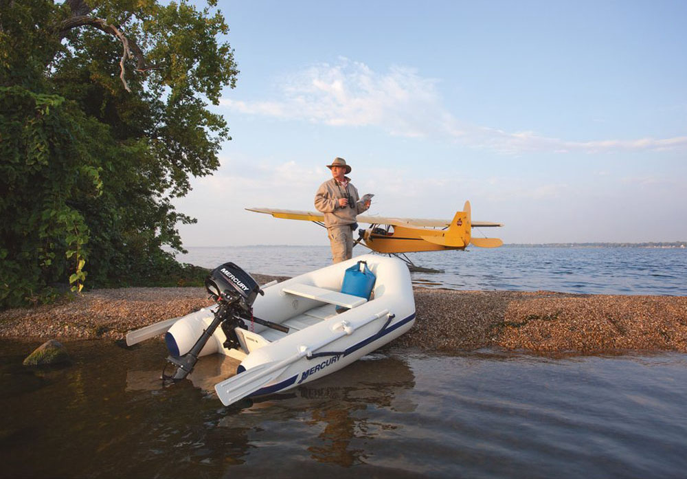 Mercury Inflatable Boats Roll Up Dealer in Mumbai