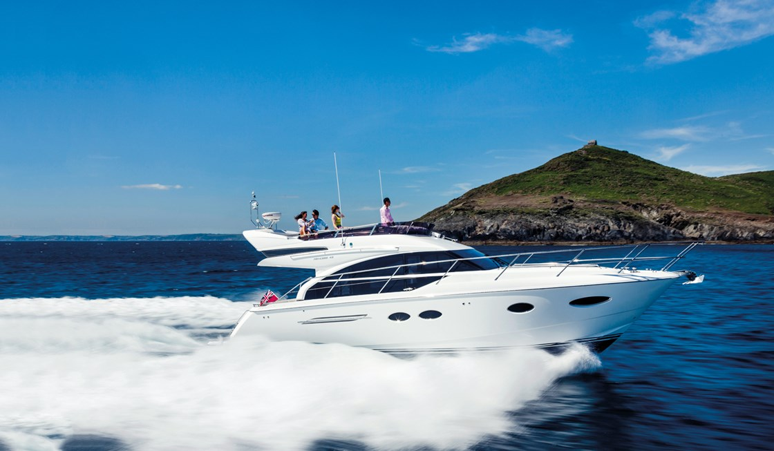 Princess Yacht 43 Motor Yachts Dealers in Mumbai India